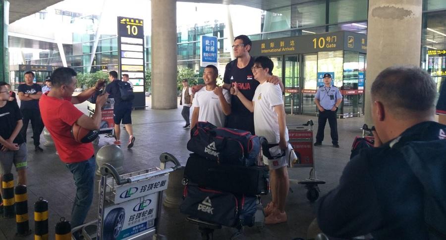 Έφτασε στην Κίνα η Σερβία