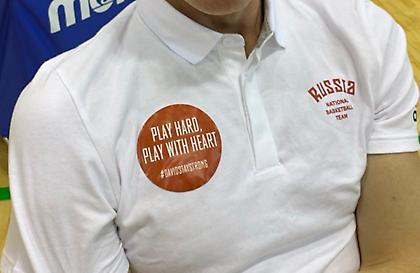 Με μήνυμα στήριξης σε Μπλατ τα μπλουζάκια της εθνικής Ρωσίας (pic)