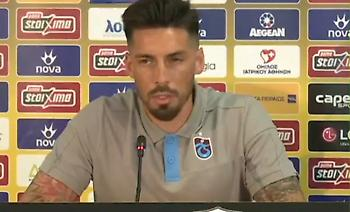 Σόσα: «Καλή ομάδα η ΑΕΚ, ελπίζουμε να φτάσουμε εκεί που αξίζουμε»