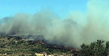 ΓΓΠΠ: Σε έκτακτη ανάγκη η Ελαφόνησος μετά τη μεγάλη πυρκαγιά