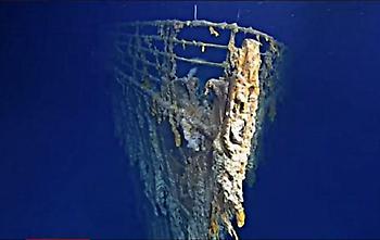 Τιτανικός: Το διάσημο ναυάγιο καταρρέει (vid)