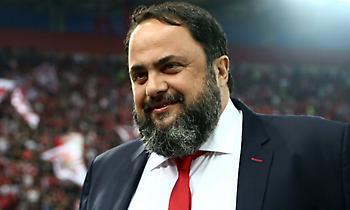 Μαρινάκης: «Δώσαμε χαρά στον κόσμο, πρώτος στόχος το πρωτάθλημα»