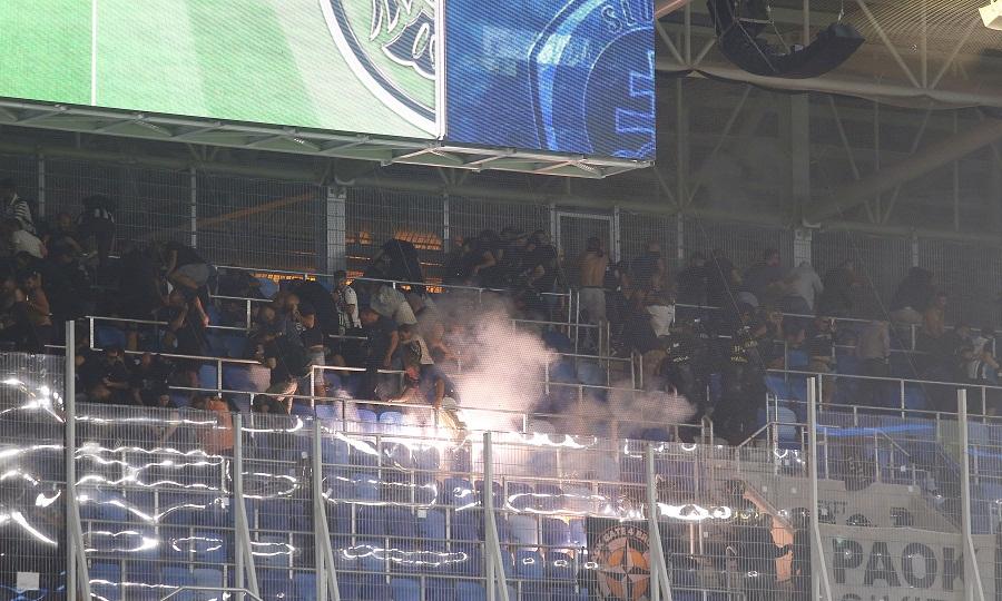 Διάβημα ΠΑΟΚ στην UEFA για πλαστικές σφαίρες από την αστυνομία