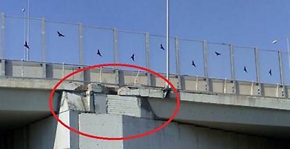 Κίνδυνος- θάνατος για οδηγούς και πεζούς γέφυρα στην περιμετρική της Πάτρας