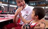 Η παρακάμερα της πρώτης του μπασκετικού Ολυμπιακού (video)