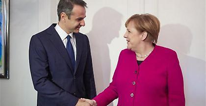 Ανακοίνωση καγκελαρίας για την επίσκεψη Μητσοτάκη στο Βερολίνο