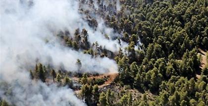 Μεγάλη πυρκαγιά στην Κέρκυρα - Πιθανή εκκένωση δύο χωριών