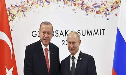 Πούτιν-Ερντογάν θα εντείνουν τις προσπάθειες στην επαρχία Ιντλίμπ