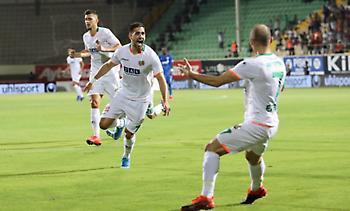 Πρώτο γκολ του Μπακασέτα με Αλάνιασπορ! (video)