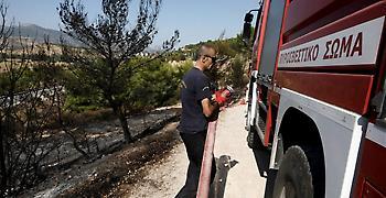 Οριοθετήθηκε η πυρκαγιά στα Κύθηρα