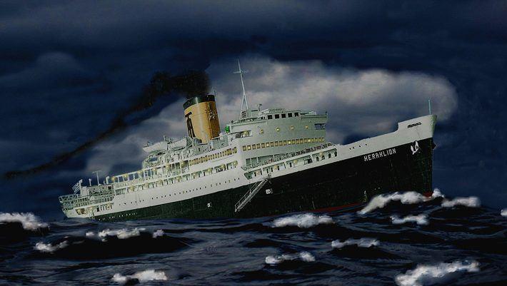 Το λάθος που βύθισε το πιο γρήγορο ελληνικό πλοίο της εποχής του (pics)