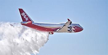 747 Supertanker: Ένας «τιτάνας» κατά των πυρκαγιών στον Αμαζόνιο (video)