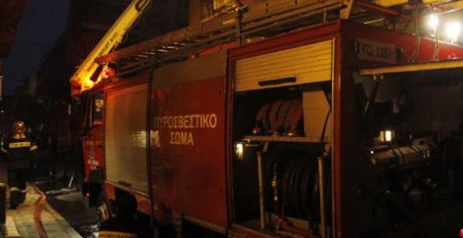 Κατασβέστηκε η φωτιά στην περιοχή του Πυργετού Λάρισας
