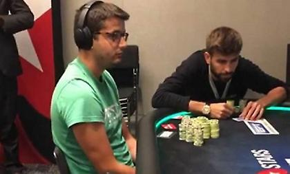 Βιδάλ και Πικέ κέρδισαν 500 χιλ. ευρώ σε τουρνουά πόκερ