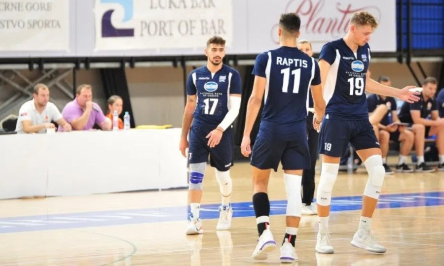 Ήττα στο δεύτερο ματς από Μαυροβούνιο για Εθνική βόλεϊ