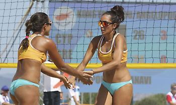 Beach Volleyball Γυναικών: Το πρώτο μετάλλιο της Κύπρου