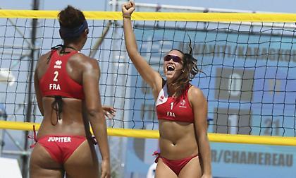 Βeach Volleyball Γυναικών: Είχαν το γαλλικό κλειδί