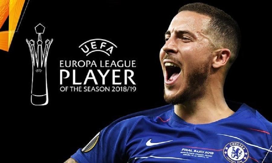 Παίκτης της σεζόν στο Europa League ο Αζάρ