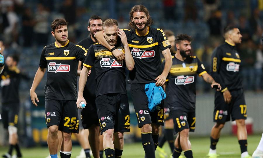 Κορυφαίο ποδόσφαιρο από την ΑΕΚ στη στιγμή που κρινόταν ίσως και η σεζόν
