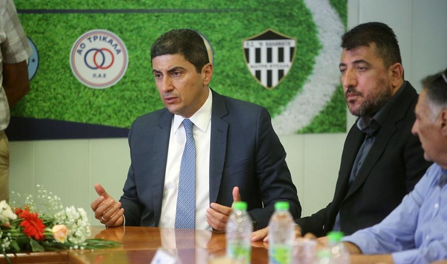 Αυγενάκης: «Σιχαίνομαι τα παρασκήνια και το ποδόσφαιρο έχει πολλά»