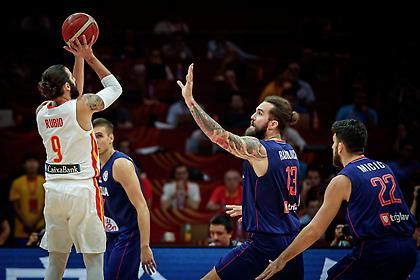 Τα highlights από τη νίκη της Ισπανίας επί της Σερβίας