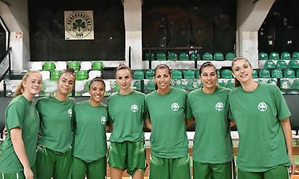 Πεντάδα φιλικών για το μπάσκετ γυναικών του Παναθηναϊκού