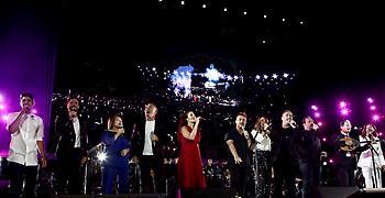 Κατάμεστο το Καλλιμάρμαρο για την μεγάλη συναυλία του «Όλοι Μαζί Μπορούμε»