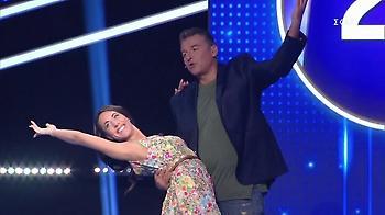 Η χορογραφία του Γιώργου Λιάγκα με νεαρή παρτενέρ (video)