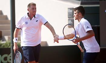 Νίκη για την Εθνική τένις στο διπλό του Davis Cup