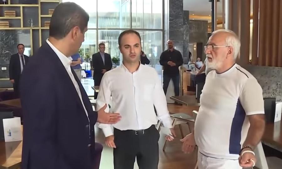 Η ένταση στη συνάντηση Σαββίδη-Αυγενάκη και οι διευκρινίσεις του ΠΑΟΚ (video)