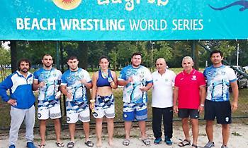 Παγκόσμια πρωταθλήτρια η Ελλάδα στο Beach Wrestling