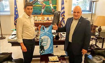 Συνάντηση με Αυγενάκη ο Πανταζίδης