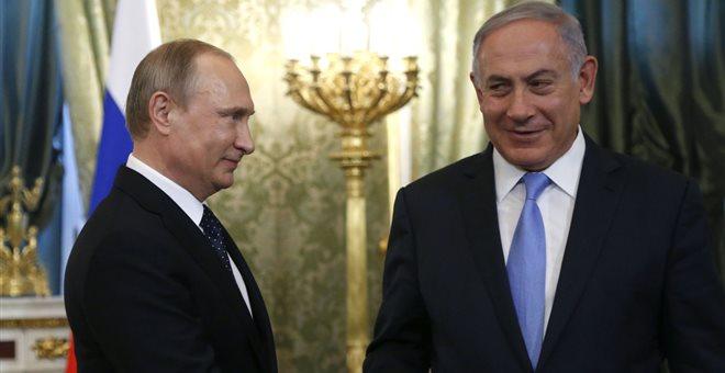 Συνάντηση Πούτιν - Νετανιάχου σήμερα στο Σότσι για τη Συρία