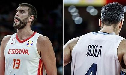 Ισπανία Vs Αργεντινή: Τα δυο «match up» που θα κρίνουν τον Παγκόσμιο τίτλο! (πίνακες & videos)