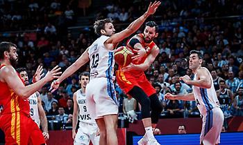 Live: Αργεντινή-Ισπανία 75-95 (Τελικό)
