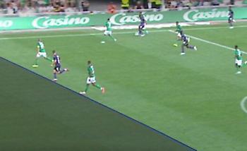 Για χιλιοστά δεν μέτρησε γκολ του Κουλούρη (video)