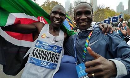 Παγκόσμιο ρεκόρ στον ημιμαραθώνιο ανδρών!