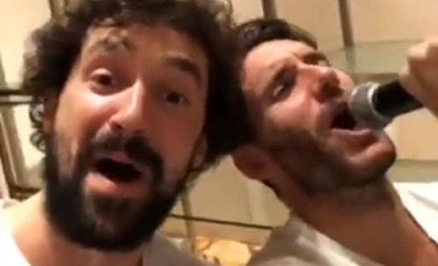 Γιουλ και Ρούντι… μεράκλωσαν και τραγούδησαν μετά το χρυσό (video)