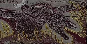 Εντυπωσιακή ταπετσαρία αλά Μπαγιέ εξιστορεί το Game of Thrones