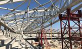 Προχωράει φουλ η κατασκευή του στεγάστρου στην «Αγια-Σοφιά» (pic)