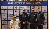 Διεκδικούν πρόκριση στο κυρίως ταμπλό Χατζηκυριάκος, Μουχθής στο Ευρωπαϊκό Πρωτάθλημα Α.Με.Α.