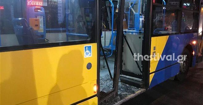 Θεσσαλονίκη: Άγρια συμπλοκή αλλοδαπών σε λεωφορείο του ΟΑΣΘ