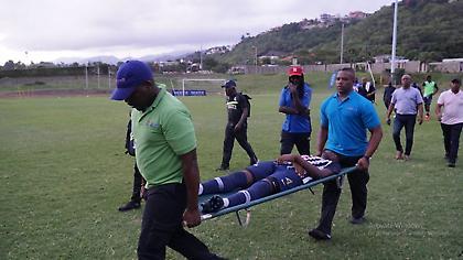 Κεραυνός χτύπησε ποδοσφαιριστές στην Τζαμάικα (video)