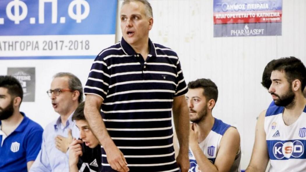 Ο Σάββας Συμεωνίδης στο τεχνικό τιμ της ΑΕΚ