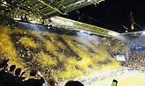 Το τρομερό κορεό των οπαδών της Ντόρτμουντ, μέσα από το γήπεδο (vids)
