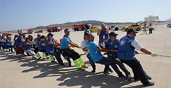Εργαζόμενοι τράβηξαν αεροπλάνο για την ενίσχυση του «Χαμόγελου του Παιδιού»
