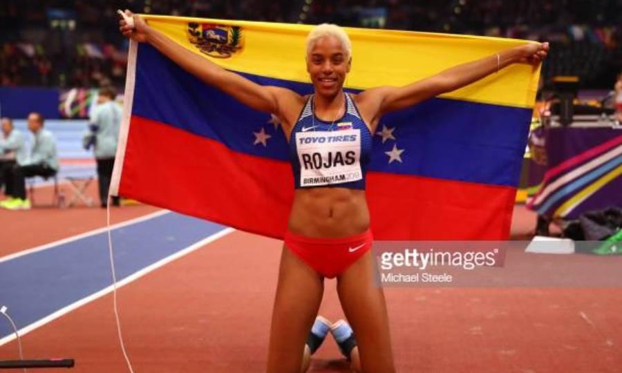 Με Ρόχας, Πεϊνάδο η αποστολή της Βενεζουέλας για το Παγκόσμιο στίβου