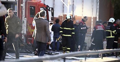Μεγάλη πυρκαγιά και έκρηξη σε εργοστάσιο χημικών στην Τουρκία- Τραυματίες