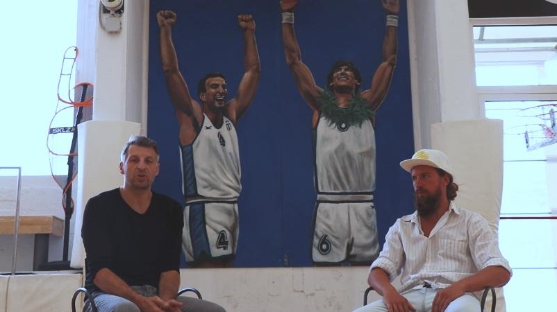 Ο Θοδωρής Παπαλουκάς βρήκε «σπίτι» για τα γκράφιτι των Γκάλη και Γιαννάκη!