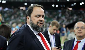 Μαρινάκης στους παίκτες: «Στόχος το πρωτάθλημα – Δίνουμε όλοι τον λόγο μας για νίκη στο ντέρμπι»